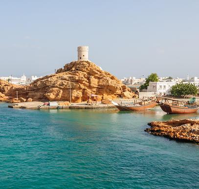 Oman ─ Wüstenmeer und Berglandschaften