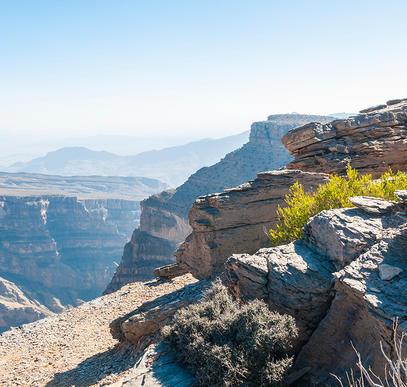 Vom Hadschar-Gebirge ins Weihrauchland