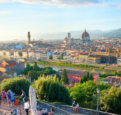 Florenz ─ Lebenslust und Kunstgenuss
