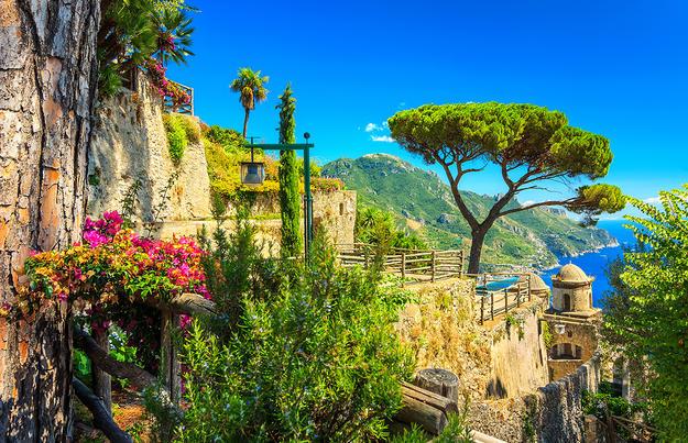 Rom und der Golf von Neapel