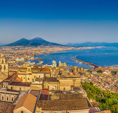 Golf von Neapel ─ Highlights zwischen Neapel, Pompeji und Paestum