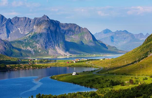 Die Fjorde Norwegens zum Kennenlernen