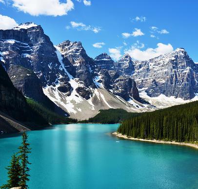 Höhepunkte der Rocky Mountains
